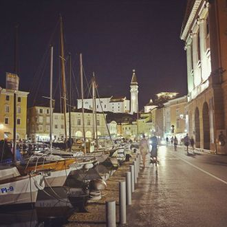 Piran by night #spotrevealed