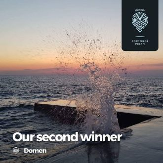 And the winner of our second GoPro camera is … Domen! Congratulations! 