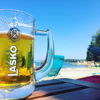 Fresh, good and beautiful...summer ☺️ #summer #summertime #birra #lasko #spotrevealed #beer #fiesa #relax #sea #sun #holiday #vacanza #portorož #piran #vogliadimare #slovenia #igslovenia #lightblue #photooftheday #picoftheday