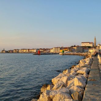 Piran am Abend