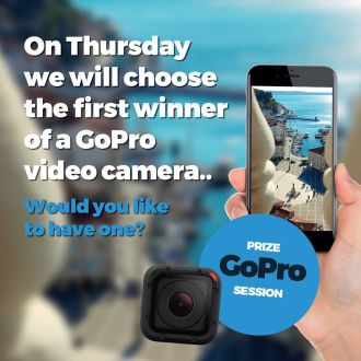 Have you already posted your hidden spot in Portorož and Piran with #spotrevealed? If you post it until this Thursday (20th July), you can participate in the first draw for a GoPro camera. >> Check link in bio for more! << #portoroz #piran #view  #win #gopro
