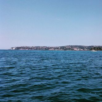 #portoroz bay from the sea #spotrevealed